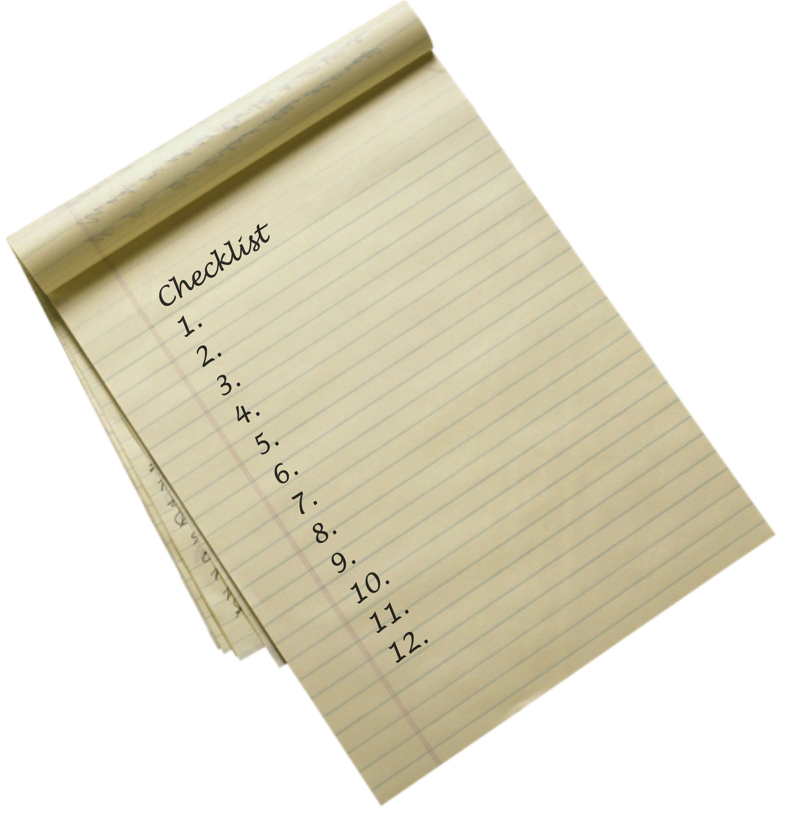 The Self-Publishing Checklist